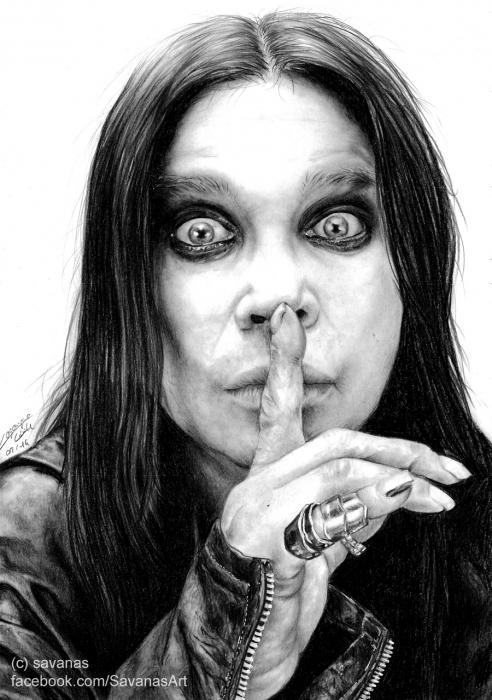 Ozzy Osbourne by savanas